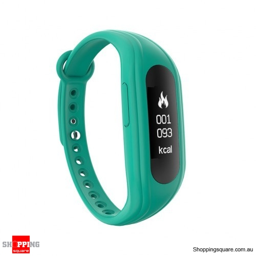 S1 0.91 inch Waterproof Bluetooth 4.0 Smart Sports Bracelet Fitness Tracker - Green