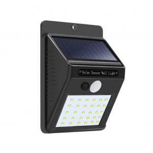 30 LEDs Outdoor Solar Wall Light with Motion Sensor