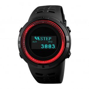 SKMEI 1360 Multifunctional Backlit Men's Digital Sports Watch Red Colour