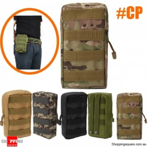 Outdoor Sport Tactical Large Capacity Storage Bag Phone Pouch  first aid kit bag - CP Camouflage