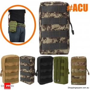 Outdoor Sport Tactical Large Capacity Storage Bag Phone Pouch  first aid kit bag - ACU Camouflage
