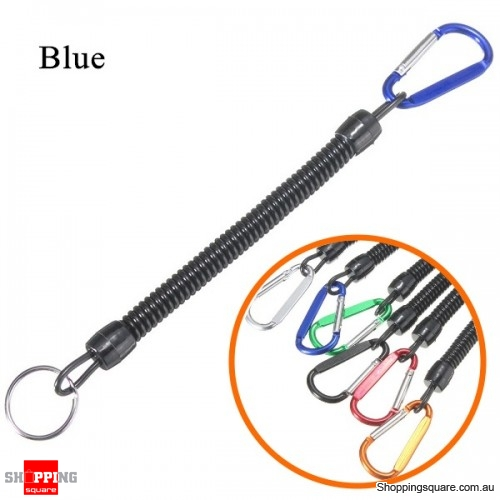 Multi-purpose Fishing Lanyards Boating Fishing Ropes Clipper Secure Pliers Lip Grips Tackle Fish Tools - Blue