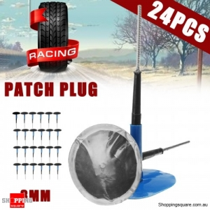 24pcs 3mm Car Motorcycle Vehicle Tyre Puncture Repair Wired Mushroom emergency Plug Patch repaired patch