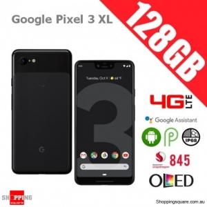 Google Pixel 3 XL 128GB 4G LTE Unlocked Smart Phone Just Black