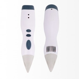 3D Graffiti Printing Drawing Pen with PCL Filament Refills - White Colour