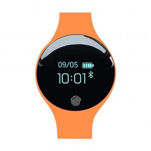 SANDA 1675 Multifunctional Bluetooth Sports Fitness HR Tracker Smartwatch Bracelet - Orange