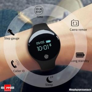 SANDA 1675 Multifunctional Bluetooth Sports Fitness HR Tracker Smartwatch Bracelet - Black