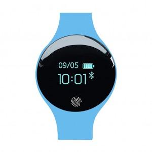 SANDA 1675 Multifunctional Bluetooth Sports Fitness HR Tracker Smartwatch Bracelet - Blue