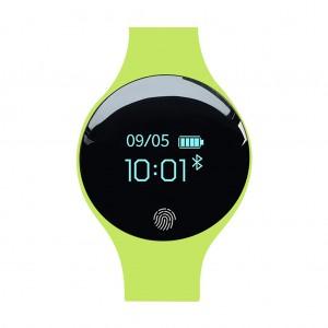SANDA 1675 Multifunctional Bluetooth Sports Fitness HR Tracker Smartwatch Bracelet - Green