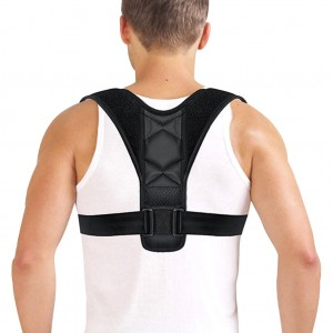 Adjustable Posture Corrector Back Support Brace Strap Belt for Adults - One Size