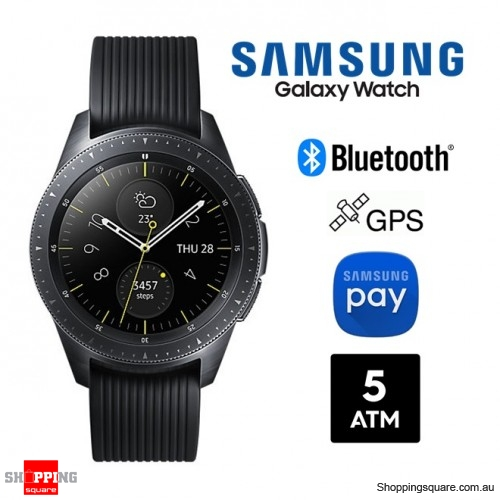 Samsung Galaxy Watch R810 42mm Bluetooth Smartwatch Midnight Black