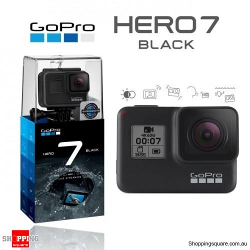 GoPro HERO7 Action Camera Hyper Smooth Video 4K Ultra HD Black