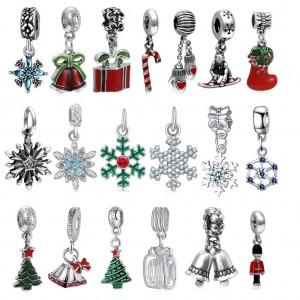 20pcs Festive DIY Christmas Pendants