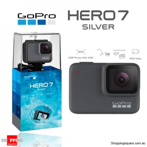 GoPro HERO7 Action Camera 4K Ultra HD Silver