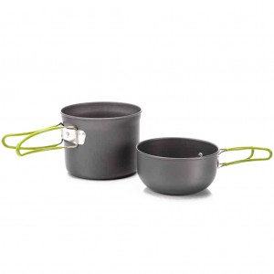 Outdoor Pot Pan Set for Camping Hiking Backpacking
