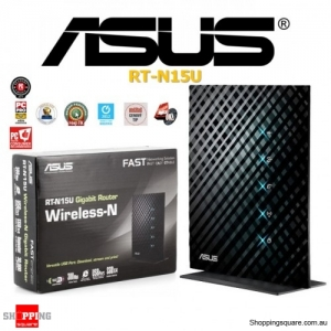 Asus RT-N15U Wireless N300 Gigabit Router