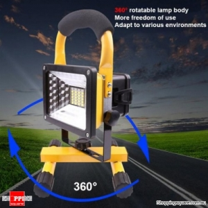 30W Portable Multi-functional LED Flood Light Outdoor Work Light Comping