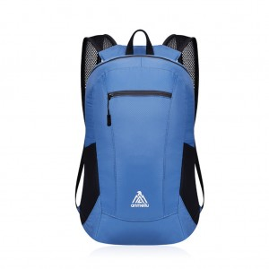 anmeilu 15L Ultralight Foldable Backpack Waterproof Folding Bag - Blue