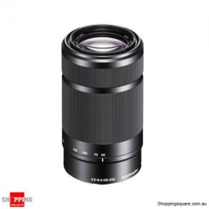 Sony E 55-210mm F4.5-6.3 OSS Camera SLR IS E-mount Lens SEL55210 Black (Refurbished)