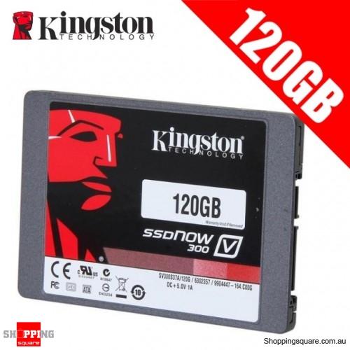 """Kingston SSDNow V300 2.5"""" SATA III Internal Solid State Drive 450MB/s -120GB"""