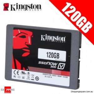 "Kingston SSDNow V300 2.5"" SATA III Internal Solid State Drive 450MB/s -120GB"