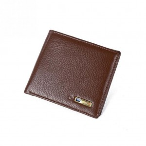 Smart Wallet Bluetooth genuine leather anti-lost Tracker wallet - Brown