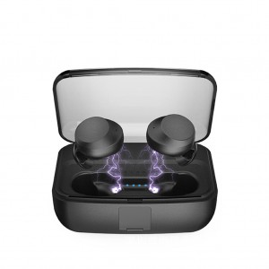 C3 Bluetooth V5.0 Earbud Ergonomic design In-Ear TWS Earphone with Charging Box