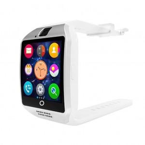 Multifunctional Q18 Waterproof camera FM radio fitness tracker Smart Watch - White