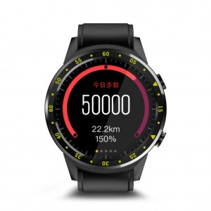 "F1 1.3"" Touchscreen Bluetooth 4.0 GPS Fitness Tracker Sport Smartwatch - Black"