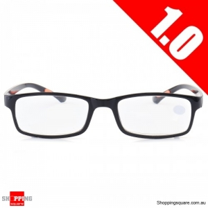 Portable Light Weight Resin Relieve Reading Glasses - 1.0