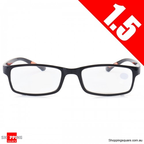 Portable Light Weight Resin Relieve Reading Glasses - 1.5