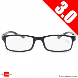 Portable Light Weight Resin Relieve Reading Glasses - 3.0
