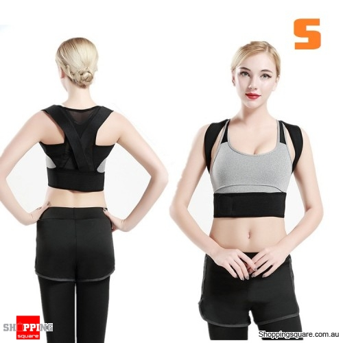 Lumbar Support Back Posture Corrector Sports Exercise Waist Belt Fitness Protector - S