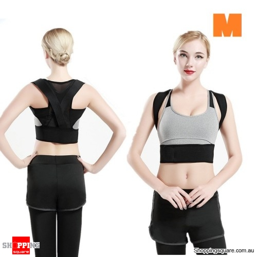 Lumbar Support Back Posture Corrector Sports Exercise Waist Belt Fitness Protector - M