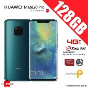 Huawei Mate 20 Pro 128GB LYA-L29 Dual Sim 4G LTE Unlocked Smart Phone Emerald Green