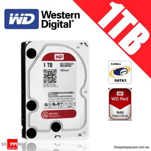 Western Digital WD Red NAS 1TB 3.5-inch Hard Drive Disk