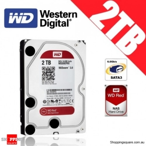 Western Digital WD Red NAS 2TB 3.5-inch Hard Drive Disk