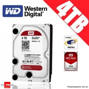 Western Digital WD Red NAS 4TB 3.5-inch Hard Drive Disk