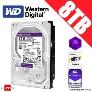 Western Digital Purple 8TB 3.5-inch SATA 6GB/s Surveillance Hard Drive Disk