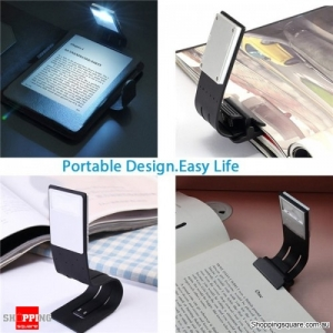 Multifunctional USB Rechargeable LED Light Flexible Clip-on Night Lamp Reading Book