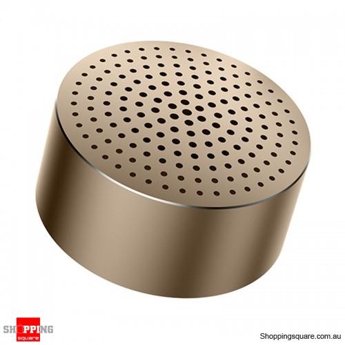 Xiaomi Portable Aluminum Alloy Mini Bluetooth Speaker - Gold