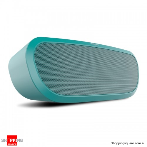 Portable Rechargeable Bass Audio Hands-free Wireless 2400mAh Bluetooth Speaker -Green
