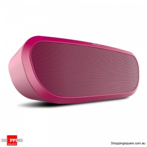 Portable Rechargeable Bass Audio Hands-free Wireless 2400mAh Bluetooth Speaker -Red