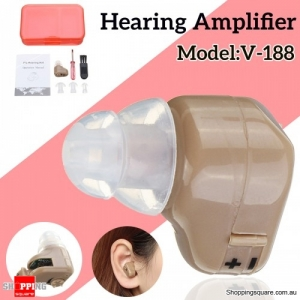 Invisible Lightweight Hearing Amplifier LR41H Battery Hearing Aid with screwdriver