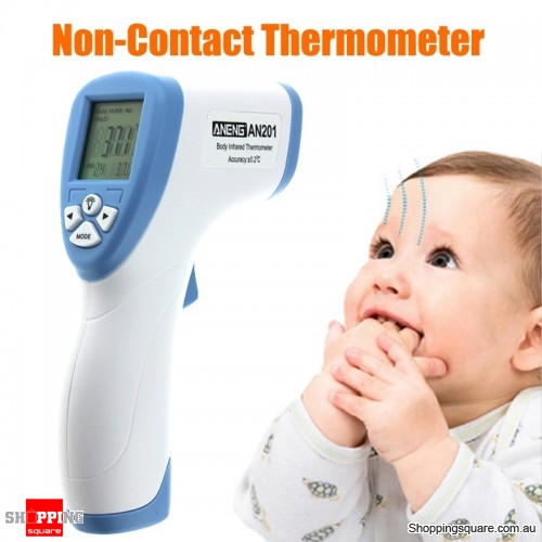 Digital Infrared IR Baby Thermometer Non-Contact Forehead Temperature Meter
