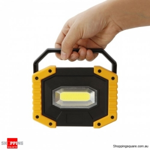 Rechargeable Waterproof 800LM LED COB Work Light USB  Emergency Spotlight Outdoor #mode 1