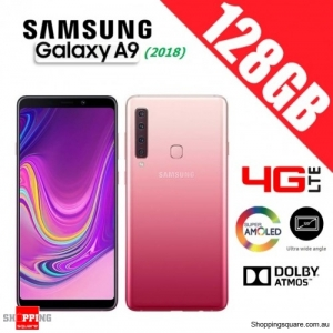 Samsung Galaxy A9 (2018) A920FD 128GB Dual Sim 4G LTE Unlocked Smart Phone Bubblegum Pink