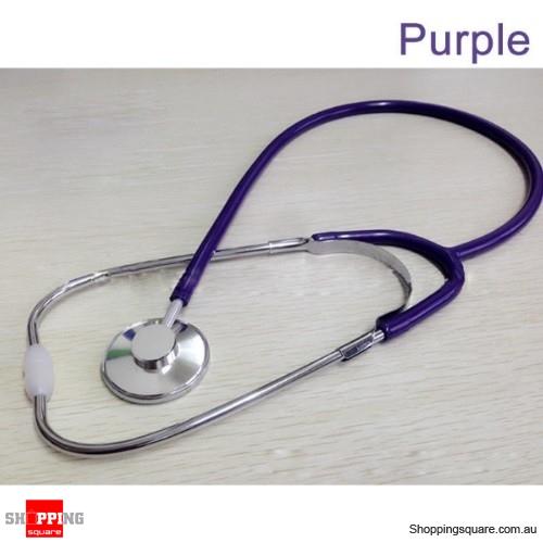 Stethoscope Arm Blood Pressure Heart Rate Blood Vessel Noise Monitor Stethoscope - Purple