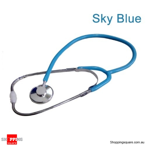 Stethoscope Arm Blood Pressure Heart Rate Blood Vessel Noise Monitor Stethoscope - Blue