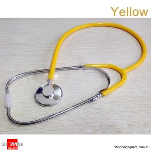 Stethoscope Arm Blood Pressure Heart Rate Blood Vessel Noise Monitor Stethoscope - Yellow